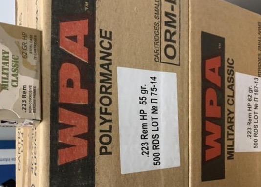 Buy WPA Ammo Online